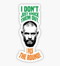 Conor McGregor knock out Sticker