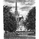St Katherines Church, Lincoln by ChrisWilsonArt