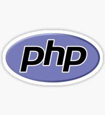 PHP SILICON VALLEY CODE PROGRAMMER Sticker