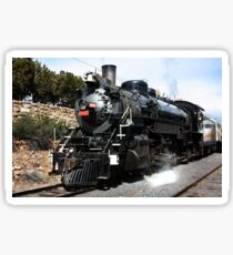 Vintage Steam Train Sticker