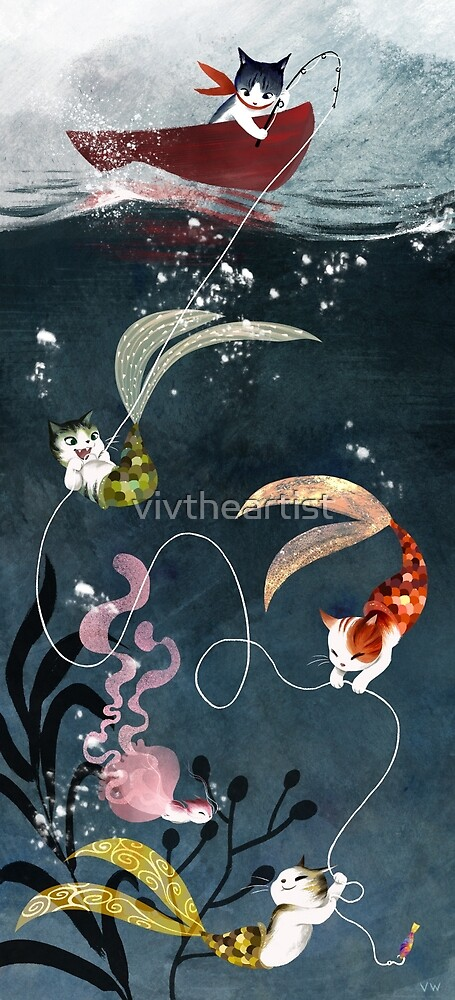 Catfish by artbyvivien