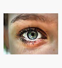 Watching eye Photographic Print