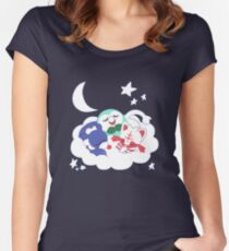 Snoozin Starters (Shiny) Women's Fitted Scoop T-Shirt