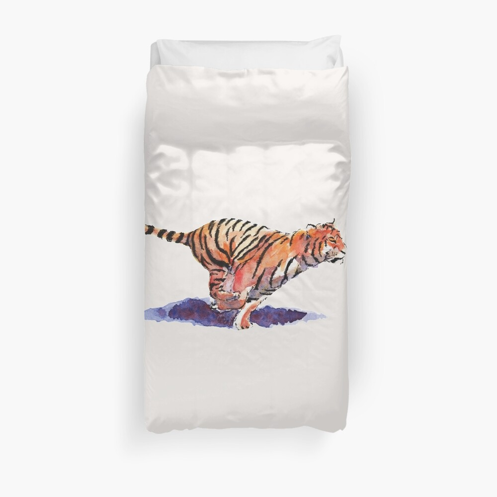 The Tiger Duvet Cover