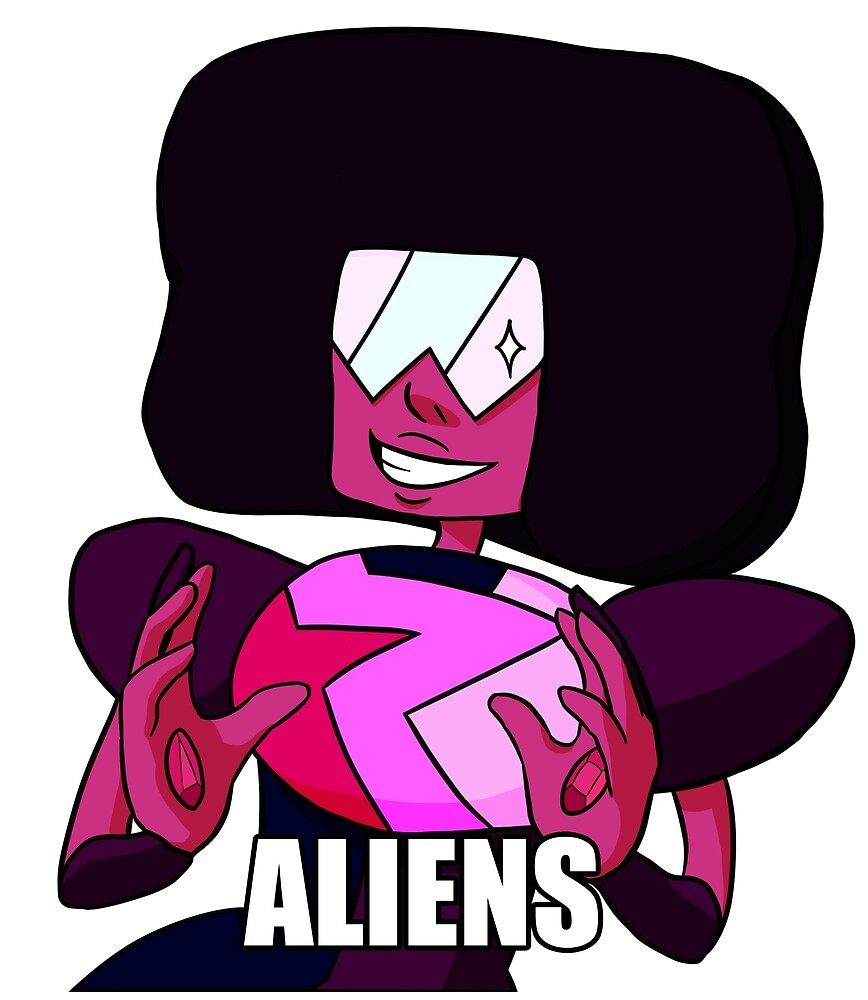 Garnet's Explanation: Aliens by huntedwitch