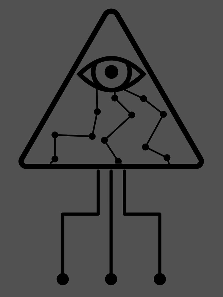 pyramid eye  by IMBLESSED