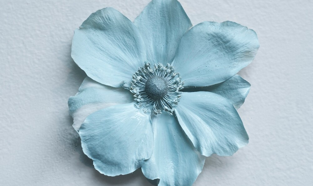 Paint Flower by Katia Lubchenko