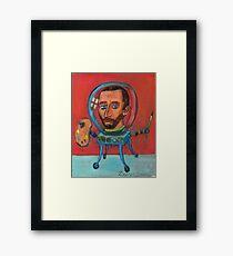 Vincent robot Framed Print