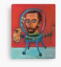 Vincent robot Canvas Print