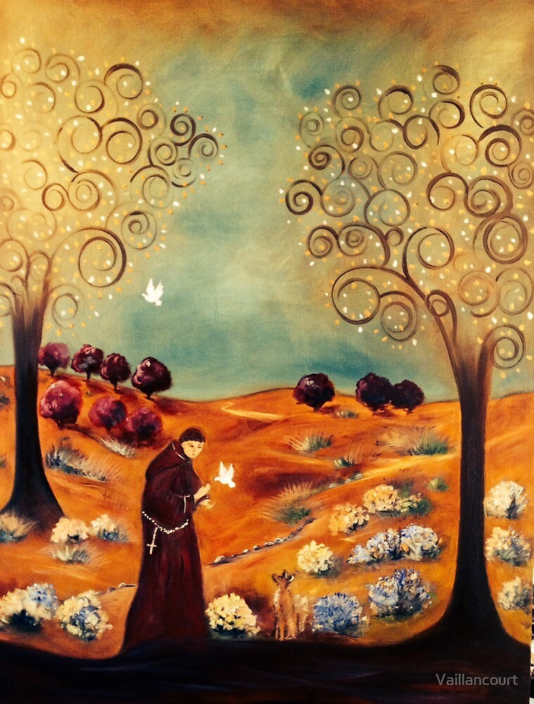 Saint Francis of Assisi  by Vaillancourt
