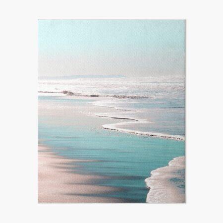THE BEACH Art Board Print