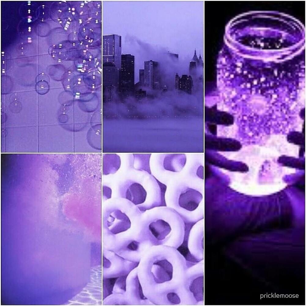Purple Aesthetic by pricklemoose