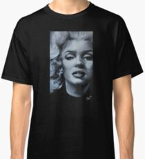 Marilyn-Black and White Classic T-Shirt