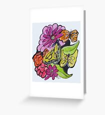 Art Doodle No. 3 Greeting Card
