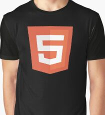HBO SILICON VALLEY 'HTML5' Graphic T-Shirt