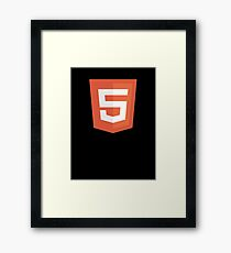 HBO SILICON VALLEY 'HTML5' Framed Print