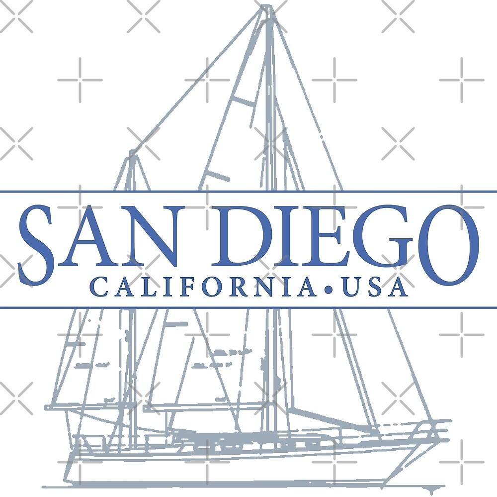 San Diego by Futurebeachbum