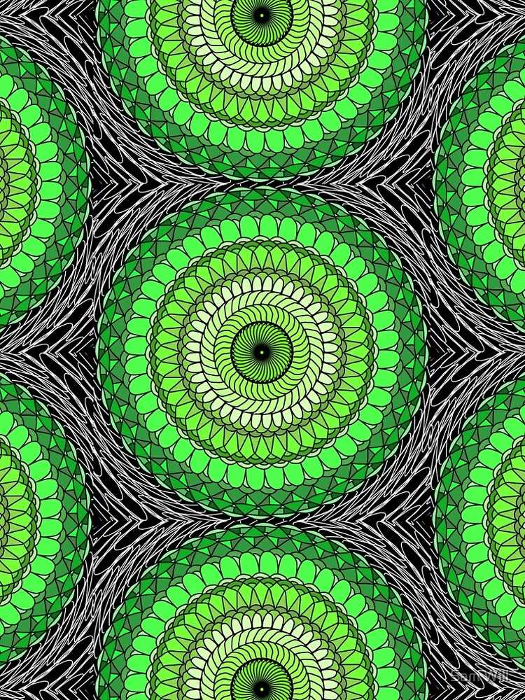 Green Abstract by TheGayToGayLife