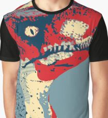 Raptor Propaganda - Clever Girl  Graphic T-Shirt