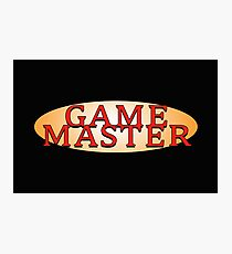 Game Master Photographic Print