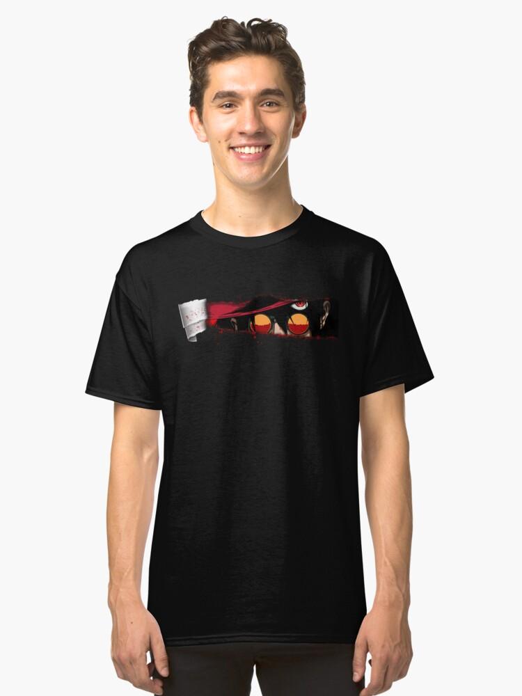 3D Hellsing Classic T-Shirt Front
