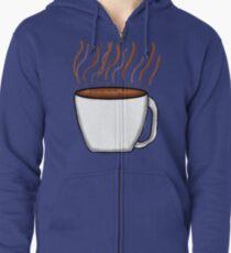 Coffee Zipped Hoodie
