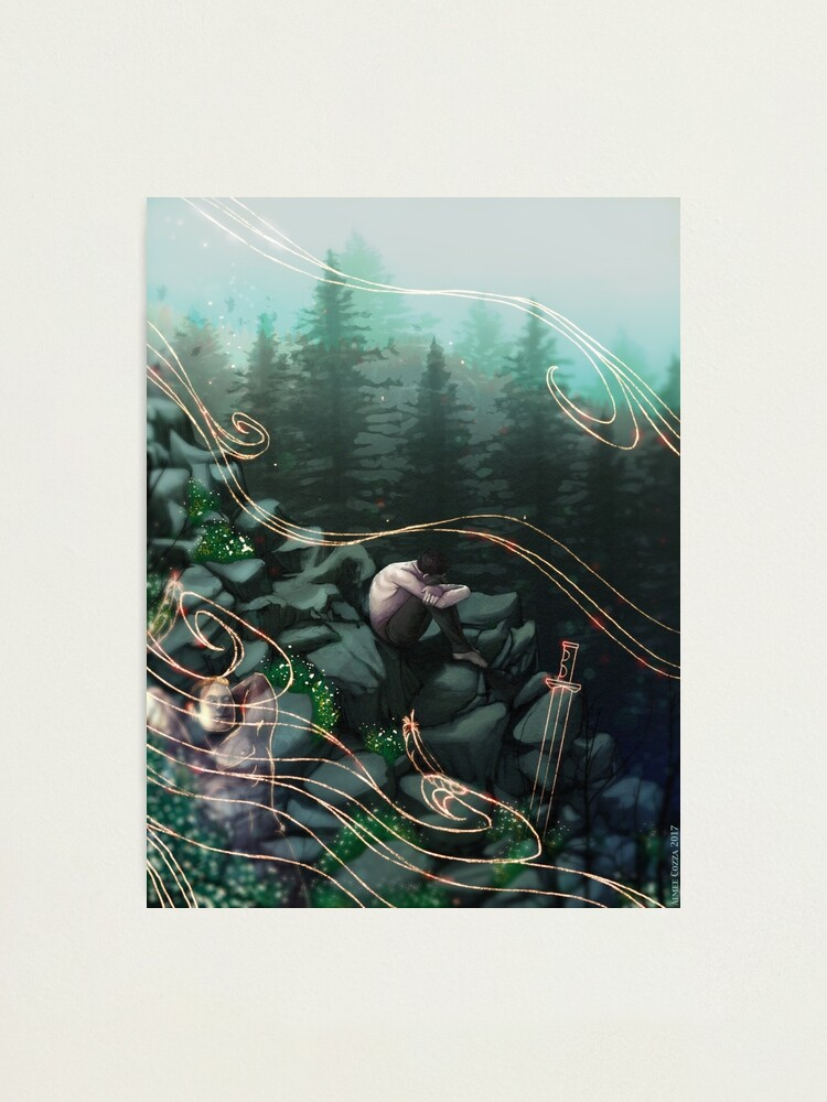 Alternate view of Windswept Photographic Print