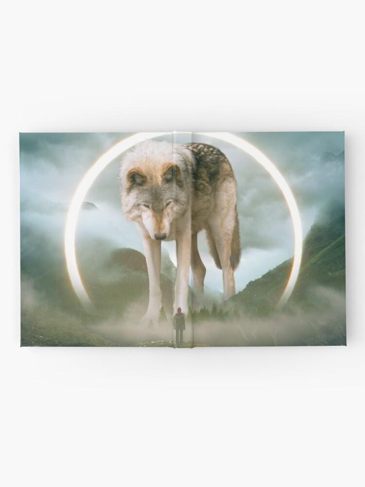 Alternate view of aegis | wolf Hardcover Journal