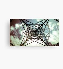 Tower of Electric Canvas Print