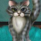 Boo Kitty by Alma Lee