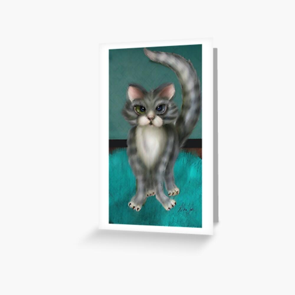 Boo Kitty Grußkarte