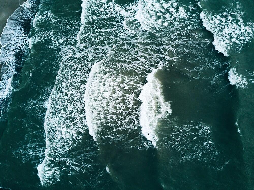Waves crashing  by Michael Schauer