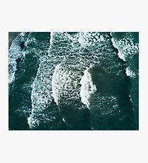 Waves crashing  Photographic Print