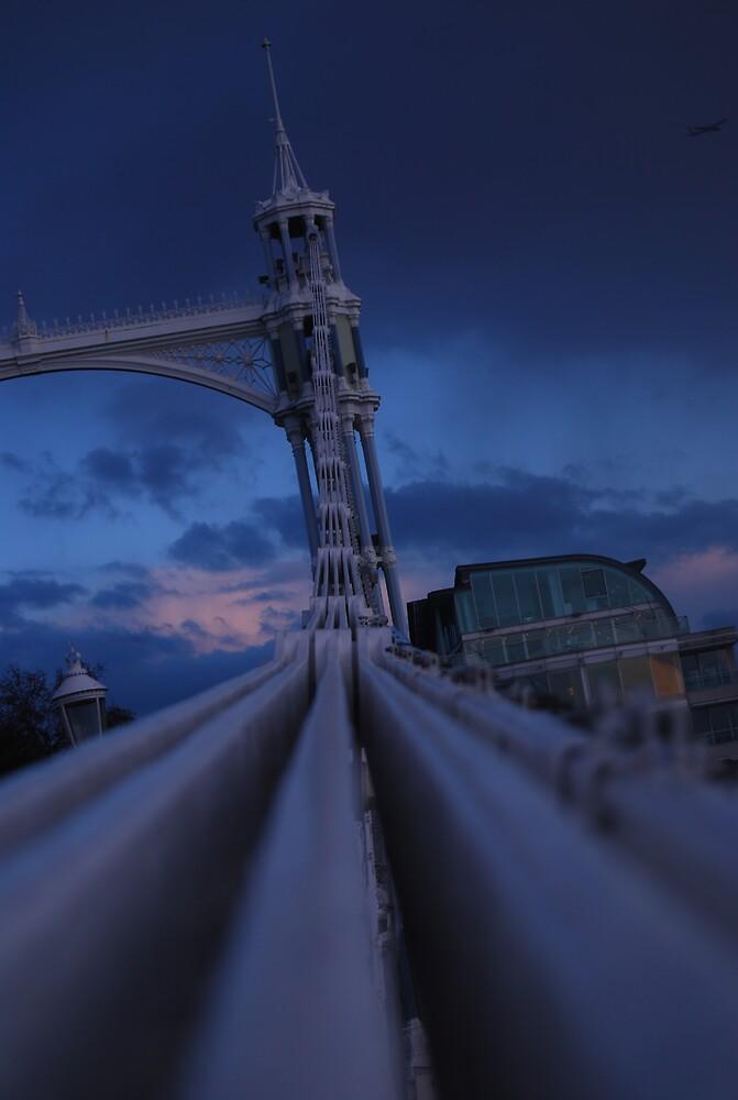 Albert bridge London by ales olasz