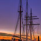 Tall Ship Mystic by LudaNayvelt