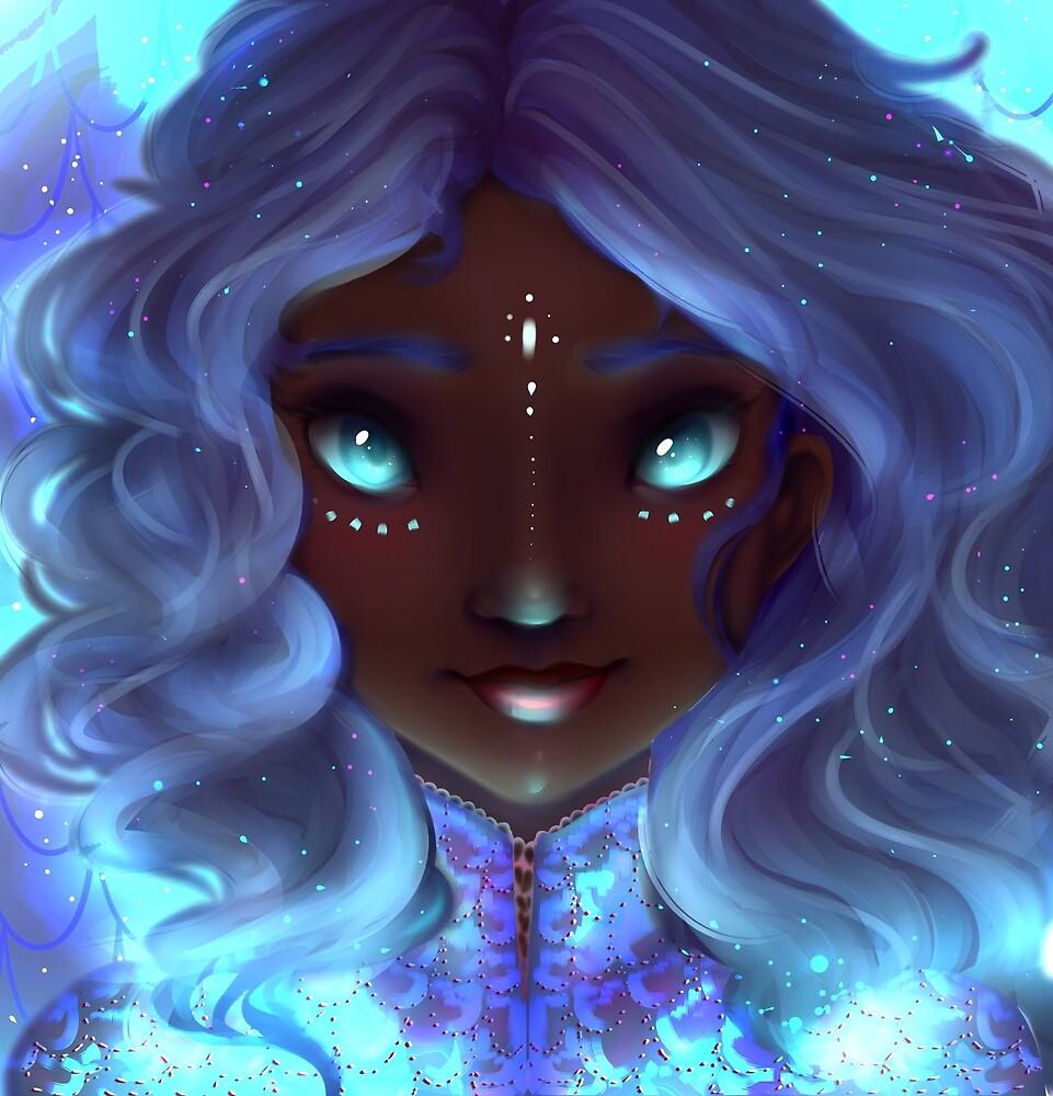 Blue Glow by lilsleepyghost