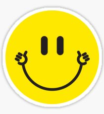 """Smiley Hands """"Thumbs Up"""" Sticker"""
