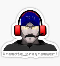 Remote Programmer Sticker