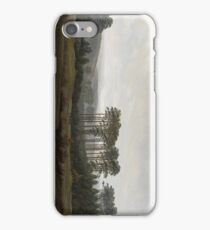 The Times of Day The Afternoon 1821 - 1822 Caspar David Friedrich iPhone Case/Skin