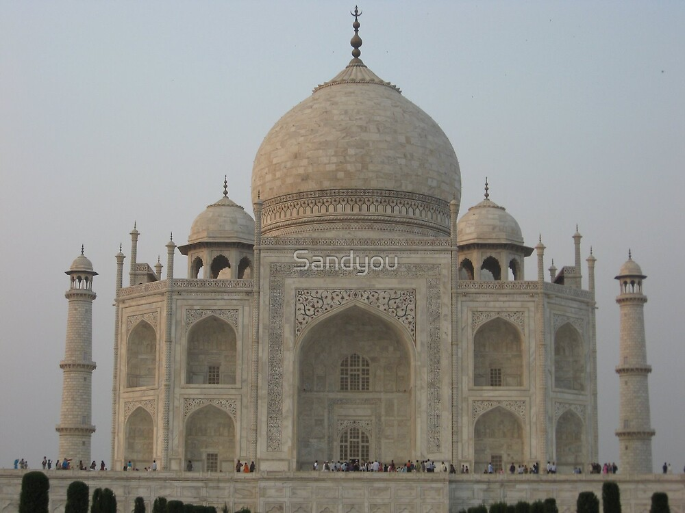 Taj Mahal India  by Sandyou