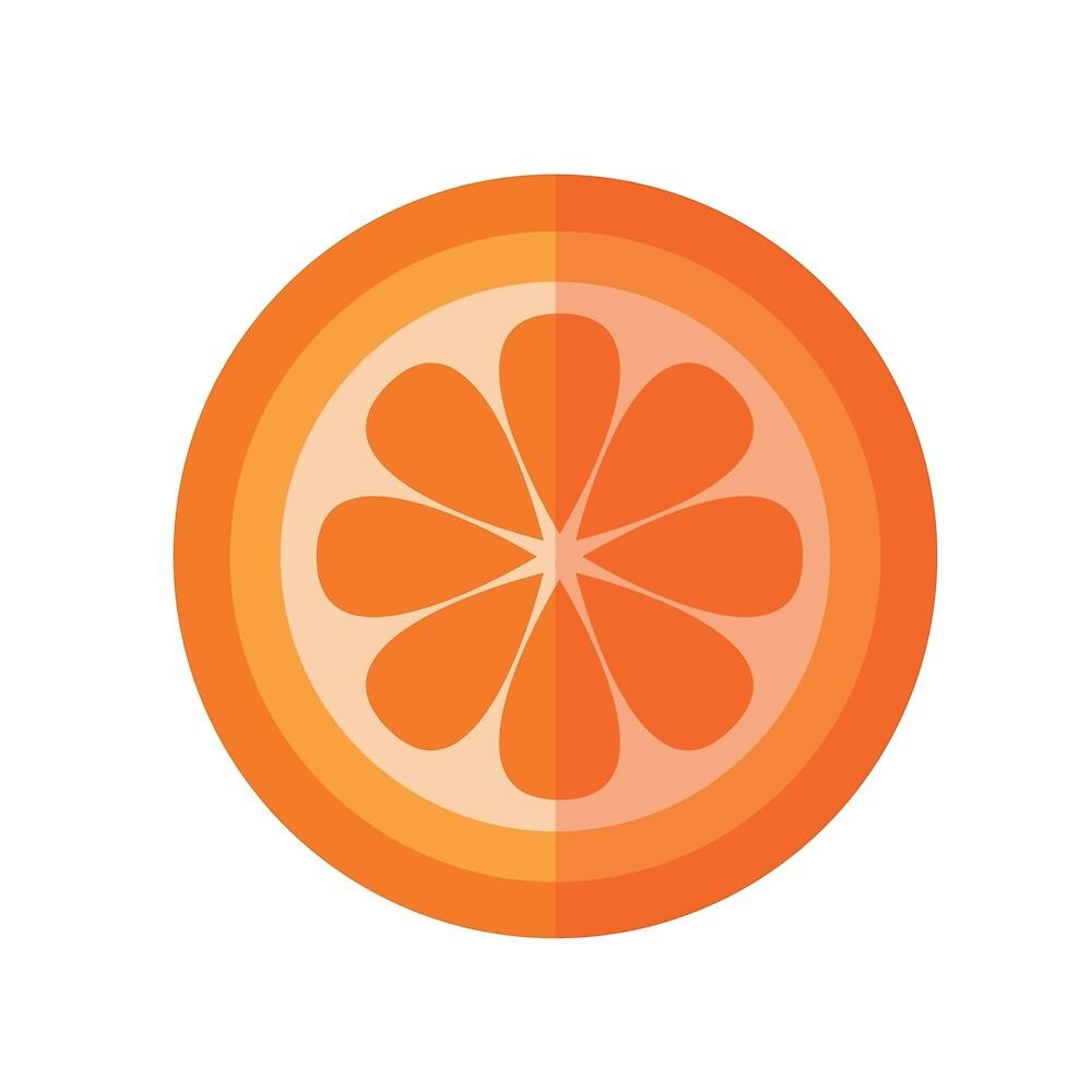 Orange Slice by gtcdesign