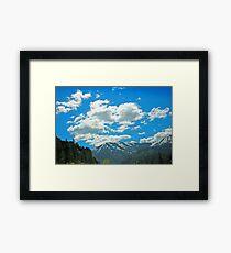 Wood Camp Logan Canyon Framed Print