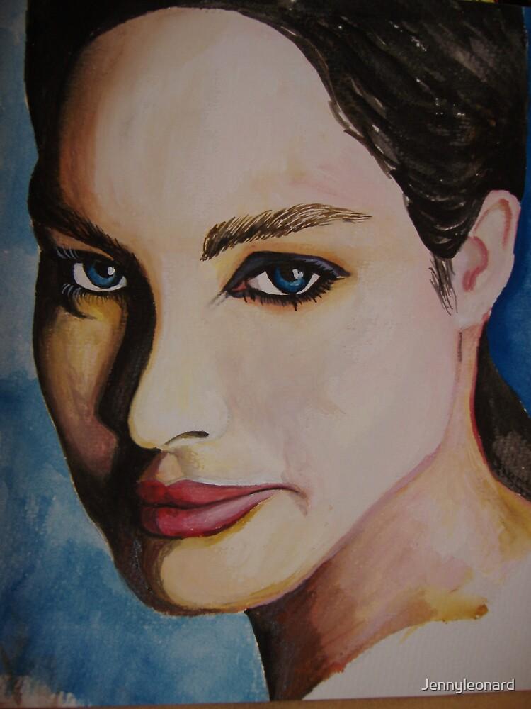 girl portrait by Jennyleonard