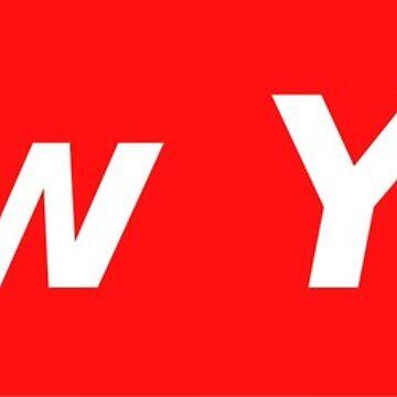 New York Box Logo by boltdesigns
