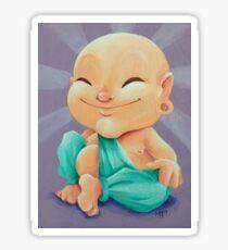 Peach Buddha Sticker