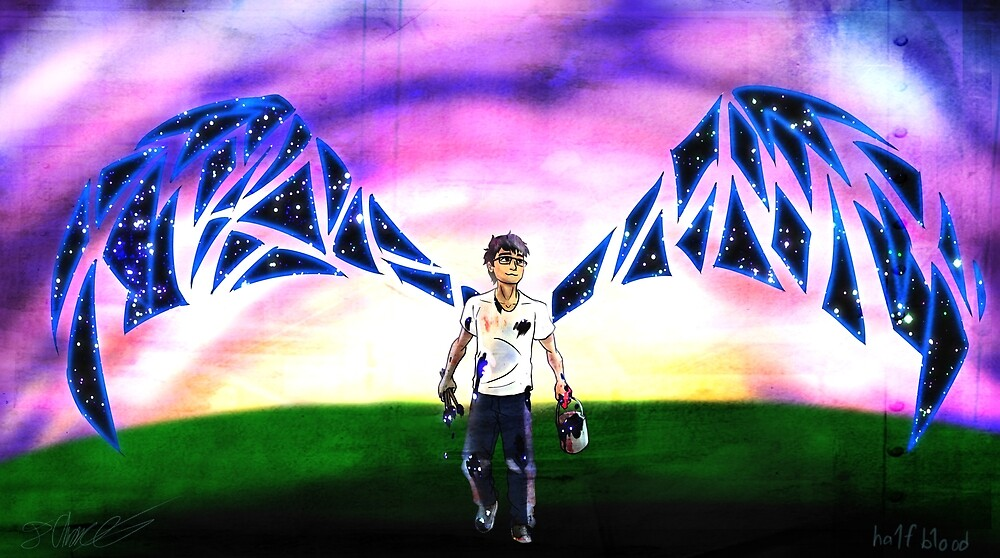 Galaxy Wings by ha1f-b1ood