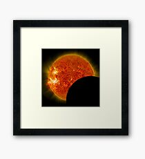 Total Solar Eclipse Of The Sun Framed Print