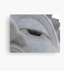 Eye of the Buddha Canvas Print