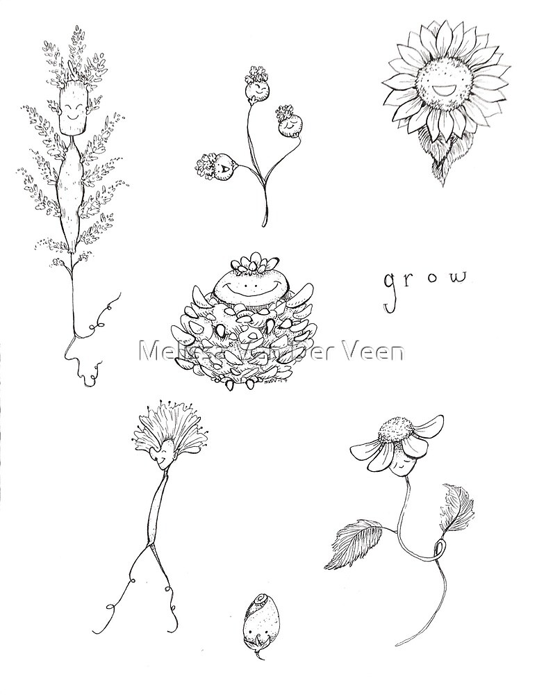 Grow by Melissa Van Der Veen