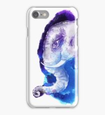 Elephant head.  iPhone Case/Skin